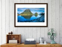 Discover «Morning at Milford Sound, New Zealand.», Numbered Edition Fine Art Print by Daniela Constantinescu - From $24.9 - Curioos