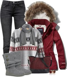 Winter outfit, from abrecombie. This is my favorite winter outfit, something that is causal super comfy and REALLY cute.