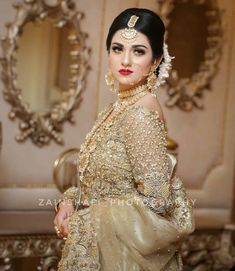 A collection of short stories, that will take you to a journey of lov… Pakistani Bridal Makeup, Pakistani Wedding Outfits, Indian Bridal Outfits, Pakistani Dresses, Pakistani Mehndi, Walima Dress, Mehndi Dress, Indian Gowns, Bridal Mehndi