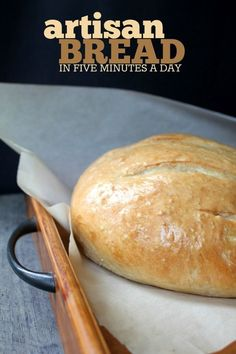 How to make the perfect Artisan Bread in less than 5 minutes a day! This recipe … How to make the perfect Artisan Bread in less than 5 minutes a day! This recipe uses yeast, and is so easy to make! Artisan Bread Recipes, Yeast Bread Recipes, Pain Artisanal, Easy Bread, How To Bake Bread, Home Baking, Pinterest Recipes, Everyday Food, Naan