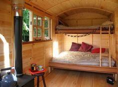 The Yorkshire Hut Company - - Bauwagen - Home Design Tiny House Swoon, Tiny House Living, Small Living, Tyni House, Shepherds Hut, Small Places, Farmhouse Interior, Tiny Spaces, House On Wheels
