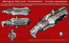 Republic Transport - class unknown ortho [New] by unusualsuspex on DeviantArt