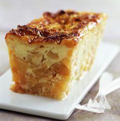 Flan aux pommes à la brioche - Cuisine - Plurielles.fr