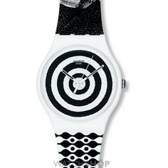 Unisex Swatch Hypnotic Eye Watch SUOZ126