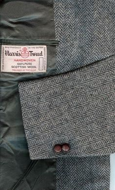 HARRIS TWEED Men's Wool Sport Coat Blazer