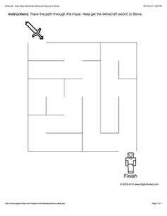 This Easy maze worksheet features a Chinese New Year maze to trace your path through with a Chinese lantern and fireworks to color. The maze worksheet is printable and the maze changes each time you visit. First Grade Worksheets, Preschool Learning, Kindergarten Worksheets, Preschool Activities, Chinese New Year Activities, New Years Activities, Minecraft Sword, Minecraft Party, Minecraft Activities