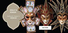 Joker Masks, Jolly venetian masks