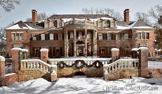 Beautiful Historic Mansion in Tulsa Old Mansions, Mansions Homes, Abandoned Mansions, Beautiful Buildings, Beautiful Homes, Big Houses, House Goals, Historic Homes, My Dream Home