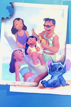 Mickey and Company — Lilo & Stitch phone backgrounds (set 2). Feel free...