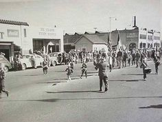 Mother Goose Parade early years