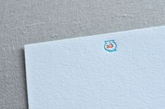 Fishy Fishbowl Letterpress Stationery Card with by Paperwheel, $15.50