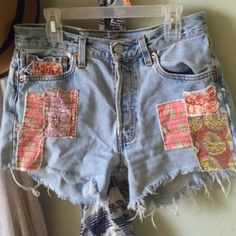 Free People Shorts Great condition. Run big so can fit a 25 and 26. Free People Shorts Jean Shorts