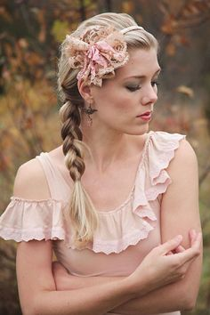 New colorVintage Lace Headband for women or by TutusChicBoutique, $18.00