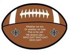New Orleans Saints....WhoDat!