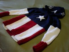 Knit Your Own Captain America Sweater