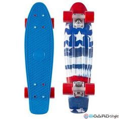 Penny Skateboard Patriot 22 Comprare online Skateboard Carver Longboard