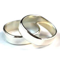 Sterling Silver Ring, Wedding Band Set, Wedding Ring Men, Silver Ring Men, Silver Rings for Women, Wedding Rings Set, Wedding Bands Women