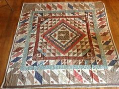 Early NY MEDALLLION quilt