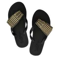 4d4ad11769a The flat sandal strap may be a tighter fit compared to wedge strap. We  suggest to select one size larger for the flat sandals.