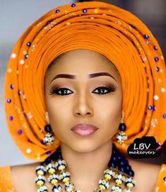 "20.2k Likes, 98 Comments - Africa's Top Wedding Website (@bellanaijaweddings) on Instagram: "" @itz_aeesha_ @lbvmakeovers / Beads @rochem_iyaileke / Aso Oke @asoebi.chateau…"""
