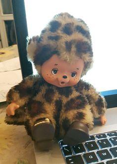 vintage monchhichi moncicci zabolakia SEKIGUCHI nyamy ghepardo scarpe | eBay