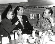 Lucy, Cary Grant and Bob Hope