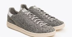 Knit One, Purl Two Forever: @AdidasOriginals Stan Smith PK Multi Grey #Sneakers