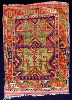 Persian Rugs | These rugs have a distinctive pallette, compare this rug to Yatak ...