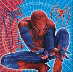 The Amazing Spiderman Party Napkins