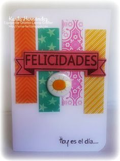 Latina Crafter - Sellos en Español: Reto #19 (LCSC19) y Ganadora Reto #18