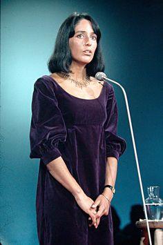 "joan-chandos-baez: "" Joan Baez, 1967 """
