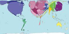 Se o mundo fosse mapeado de acordo com quantos trabalhos de investigação científica cada país produz, assumiria uma aparência bizarra e irregular. O norte se ampliaria, enquanto o hemisfério sul praticamente desapareceria. O que impulsiona essa desigualdade?  Dinheiro e tecnologia são fatores que influenciam quanto se trata de produzir pesquisas. A média de pesquisa e desenvolvimento – isto é, como uma porcentagem do PIB – foi de 2,4% para os países da OCDE (Organização para a Cooperação e…