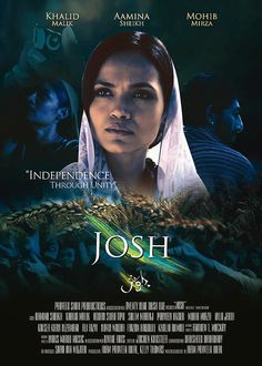 After screenings in India, UK and US, the much anticipated Indie film JOSH created by Pakistani director, producer and writer Iram Parveen Bilal, is set to premiere in Karachi end of July. Latest Movies, New Movies, Movies To Watch, Movies And Tv Shows, Pakistani Movies, Pakistani Dramas, Pk Songs, Pak Drama, Hollywood Music