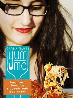 Yum-mo:  Using detailed recipes, clear instructions and colour photographs, Yum-mo entices kitchen amateurs to cook properly, from the daily basics to more complicated recipes when friends are visiting. All the dishes were selected to be easily achievable, not break the budget, and take little time. Also included are basic principles – from how to chop an onion to what to do with leftovers and how to store food correctly.