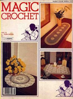 Magic Crochet #8, August 1980: