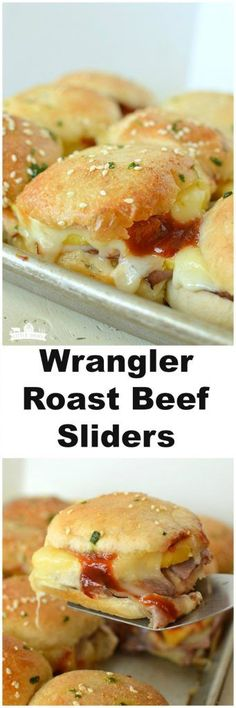 Wrangler Roast Beef Sliders! Easy recipe you will find yourself making again and again! (beef sliders cooking)