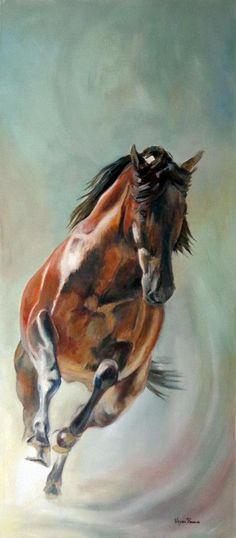 Virginia Romero   Spain - cavalo
