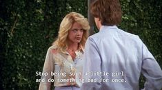 laurie and eric - that show Laurie That 70s Show, Movies Showing, Movies And Tv Shows, That 70s Show Quotes, Eric Forman, 70 Show, Coping Mechanisms, Cartoon Network Adventure Time, Film Quotes