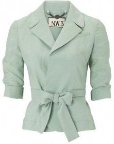 by Hobbs Brook Blazer, Mint - ShopStyle Jackets Mint Green Blazer, Green Jacket, Blazer And Shorts, Blazer Jacket, Cute Jackets, Jackets For Women, Mint Tie, Hobbs Coat, Mint
