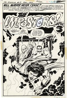Gallery of Comic Art by Jack Kirby : Mister Miracle, Issue Page 10 Comic Book Pages, Comic Book Artists, Comic Artist, Comic Books Art, Kirby Co, Jack Kirby Art, Jack King, Comic Frame, Comic Book Collection