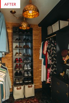 Before and After: A Masterful Master Closet Makeover