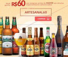 Empório da Cerveja - R$ 60 de Desconto em Compras Acima de R$ 200 em Cervejas Artesanais