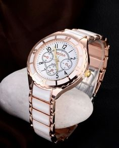 Cheap mujer, Buy Quality mujer reloj Directly from China Suppliers:ROSRA Luxury Brand Watches Fashion Rose Gold Watch Women Full Steel Quartz Watch Ladies Watch Lady Hour montre femme reloj mujer Women's Dress Watches, Big Watches, Sport Watches, Watches For Men, Elegant Watches, Stainless Steel Watch, Watch Brands, Quartz Watch, Fashion Watches