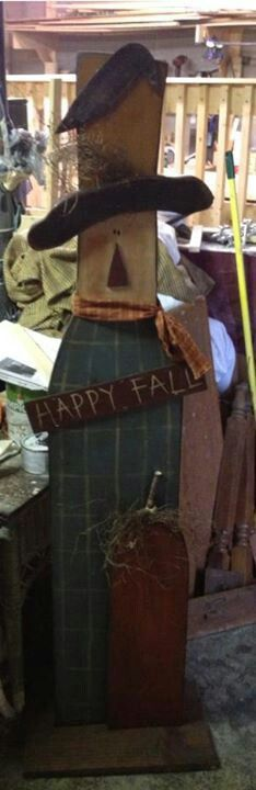 111 Best Fall Wood Scarecrows Images In 2019 Wood