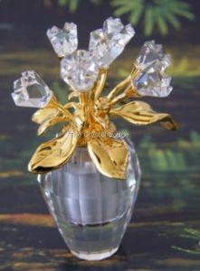Swarovski SWAROVSKI SECRETS - SPRING FLOWER VASE GOLD 210825 | Swarovski Crystal
