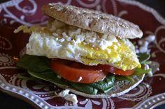 """""""Point-less"""" Meals: Mediterranean Breakfast Sandwich"""