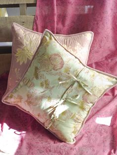 Ghandini cushion by April Cornell