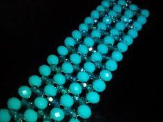 Зелёный браслет из бусин. МК. Green bracelet. DIY - YouTube