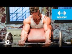 Calum Von Moger's Old School Bodybuilding Arms Workout | Armed and Ready - YouTube