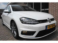Volkswagen Golf  Description: Volkswagen Golf 1.6 TDI 81kw 110pk ALLSTAR R-LINE Xenon Ecc Pdc Navigatie 5drs. 5 jaar garantie - 5183478-AWD  Price: 369.52  Meer informatie